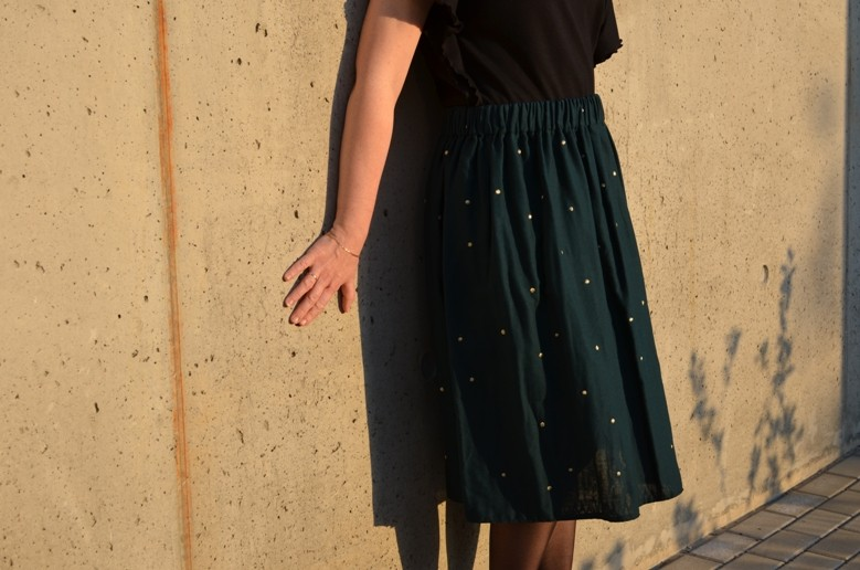 Couble gauze skirts
