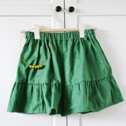 """sukýnka dětská """"pure green"""" 4 - 7 let"""